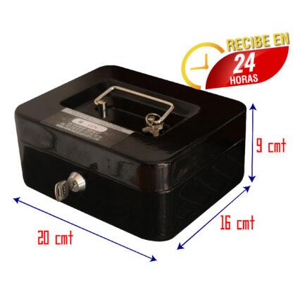 Cofre Caja Menor Negro