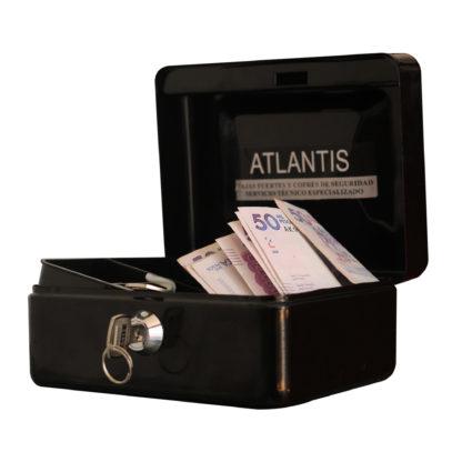 Caja Menor Rf 150 Negra Seguridad Atlantis Sas Cofre Caja Menor Referencia150