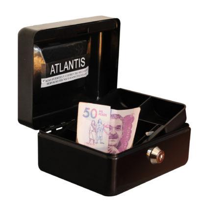 Caja Menor Rf 150 Negra2 Seguridad Atlantis Sas Cofre Caja Menor Referencia150