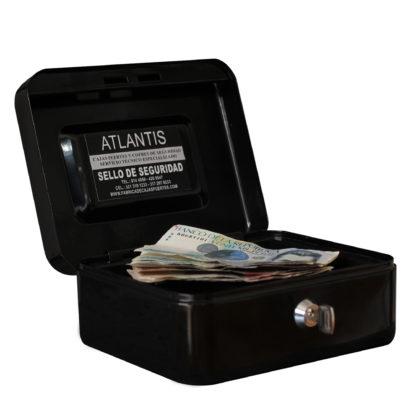 Cofre Menor Rf 250 Negro 2 Llaves Seguridad Atlantis Sas Cofre Caja Menor Referencia 250