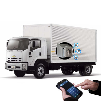 Camion Seguridad Atlantis Sas Caja Fuerte Vehículo Satelital