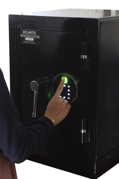 1 Mesa De Trabajo 1 Seguridad Atlantis Sas Caja Fuerte Seguridad Biométrica Apertura Huella Dactilar