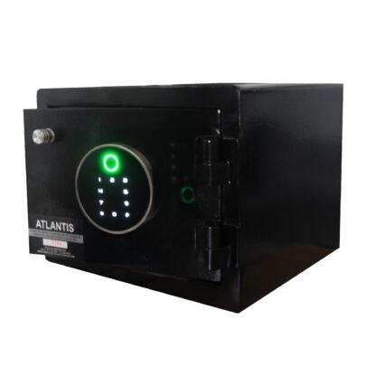 2 01 Seguridad Atlantis Sas Caja Fuerte Seguridad Biométrica Apertura Huella Dactilar Mediana