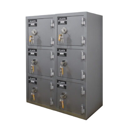 1 Mesa De Trabajo 1 Seguridad Atlantis Sas Locker De Seguridad Vertical 6 Cajones
