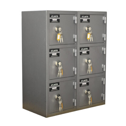 2 Mesa De Trabajo 1 Seguridad Atlantis Sas Locker De Seguridad Vertical 6 Cajones