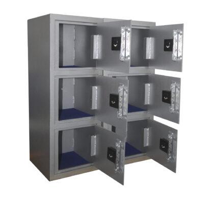 4 Mesa De Trabajo 1 Seguridad Atlantis Sas Locker De Seguridad Vertical 6 Cajones
