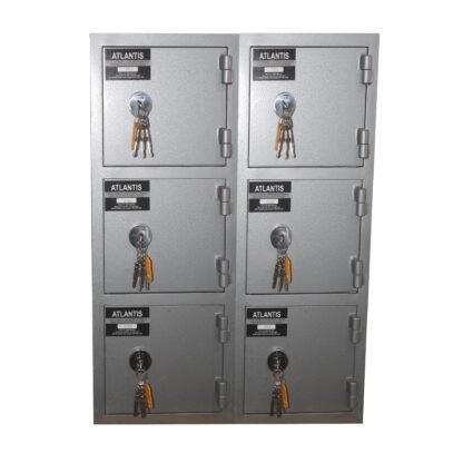 5 Mesa De Trabajo 1 Seguridad Atlantis Sas Locker De Seguridad Vertical 6 Cajones