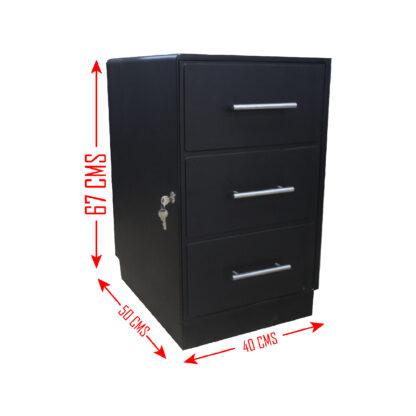 8 01 Seguridad Atlantis Sas Caja Fuerte Liviana Digital Secreta Tipo Archivador